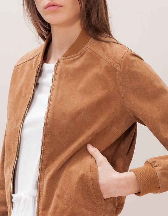 Inspiration teddy sélection tissus bomber automne dain